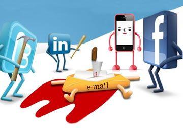 ¿Mataron las Redes Sociales y el Smartphone al email?