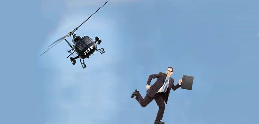 Cómo evitar ser un jefe helicóptero