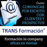 curso comunicar por escrito en la venta