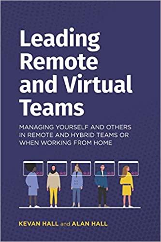 Leading remote and virtual teams